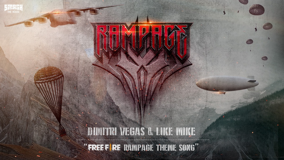 Free Fire Announces Third Installation of Rampage Event with Rampage: New Dawn