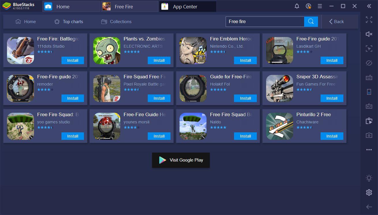 Garena Free Fire على جهاز الكمبيوتر – تفوق على المنافسة مع BlueStacks