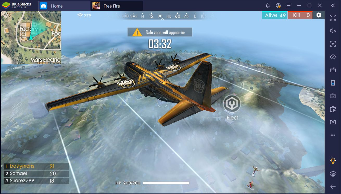 New Update: Unlock 90 FPS in Garena Free Fire with BlueStacks