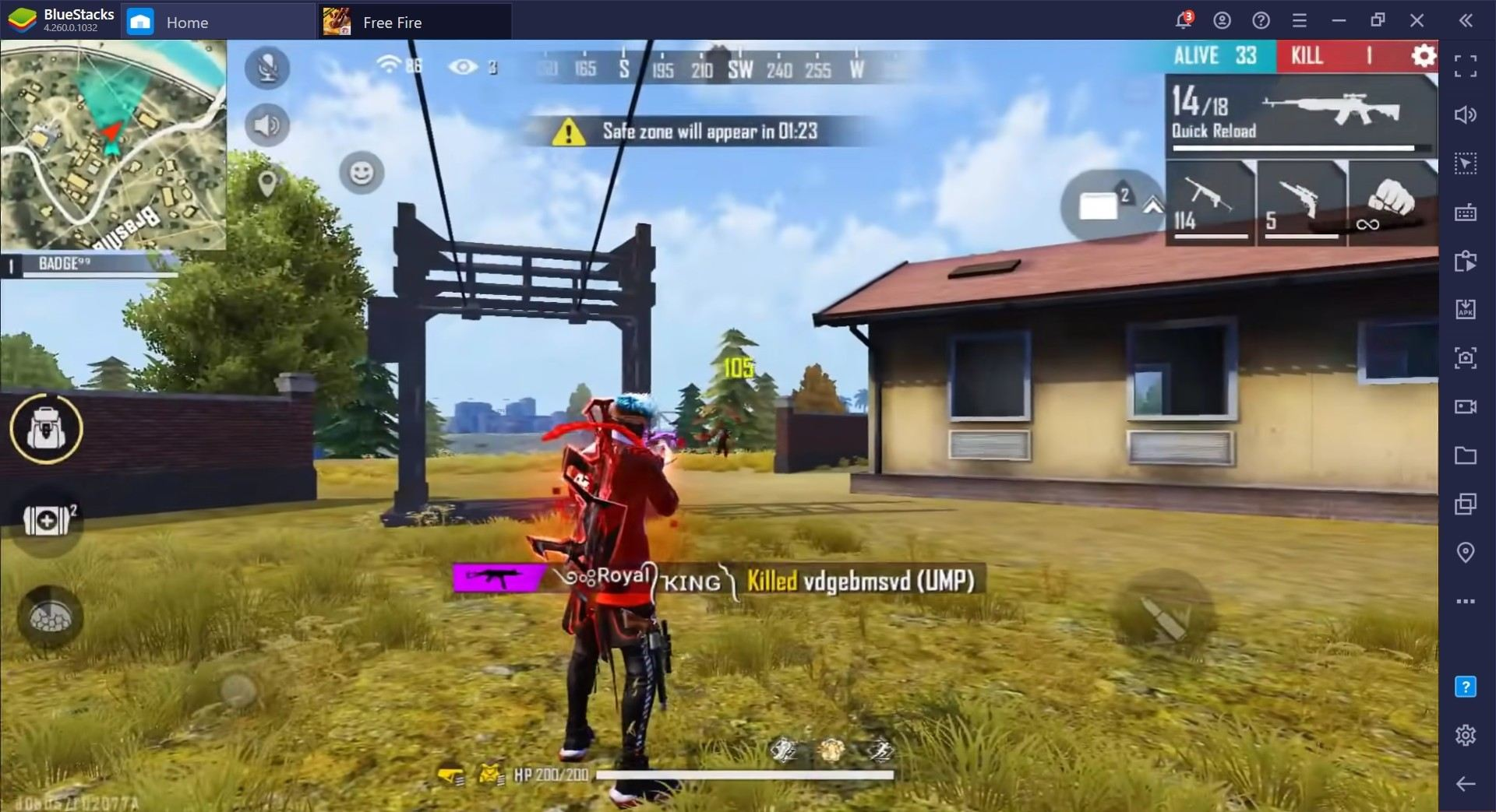 Free Fire Battle Royale Game Guide, Crouch Spray Vs Standing Spray