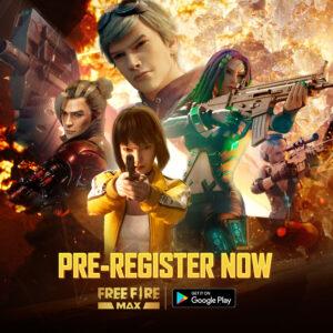 Garena Announces Free Fire Max Pre-Registrations in North America
