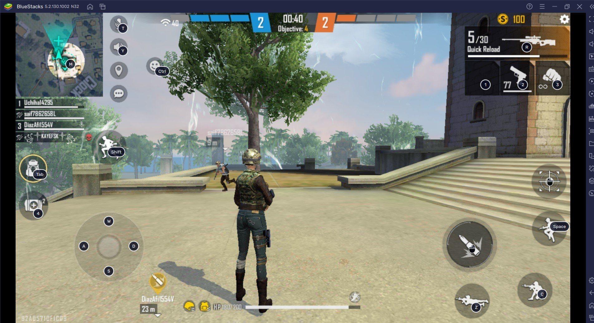 لعبة Free Fire Clash Squads دليل الـ SMG للإطاحة بالبنادق