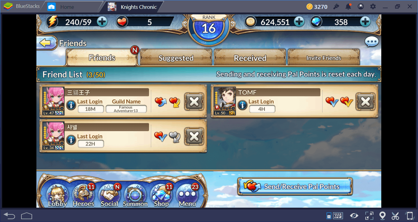 Knights Chronicle Summoning and Buildings Guide