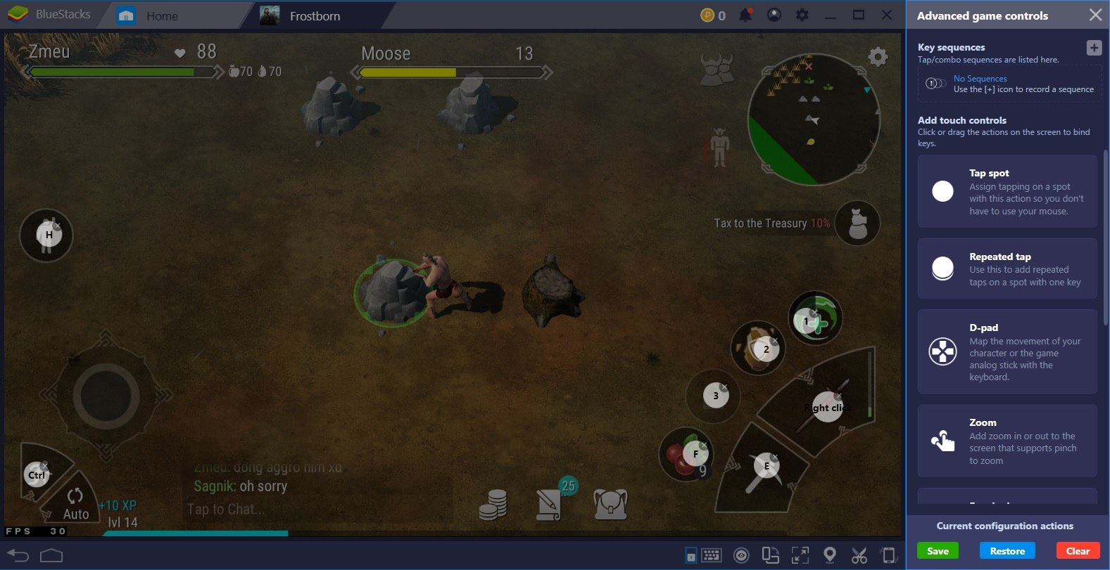 How to Install and Play Frostborn on BlueStacks