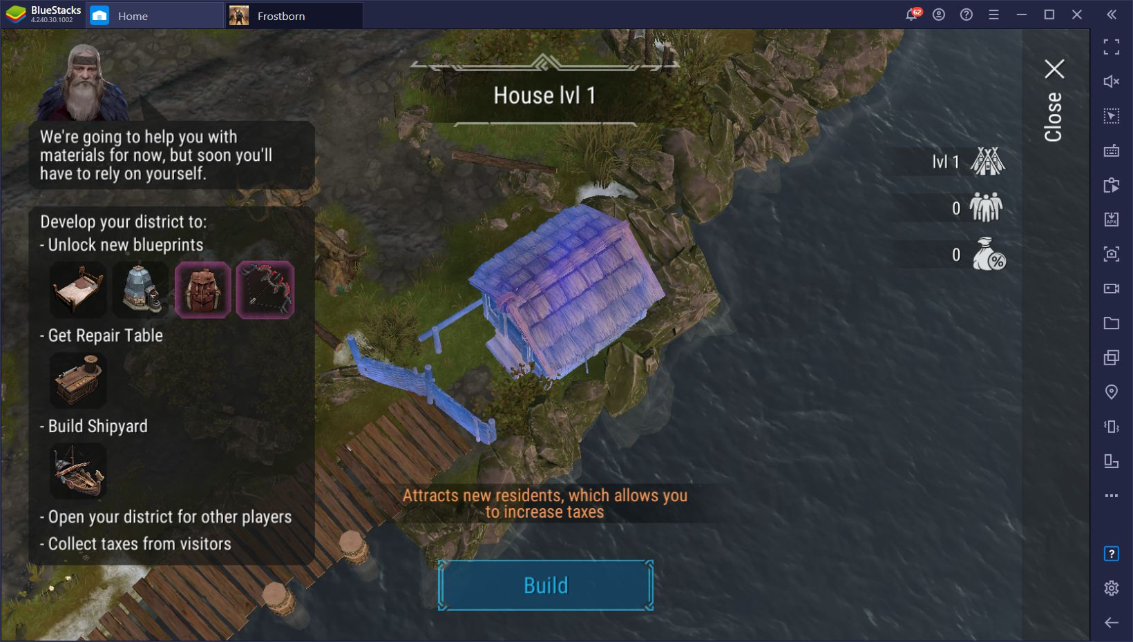 Frostborn: Coop Survival – How to Play This Survival Game on PC With BlueStacks