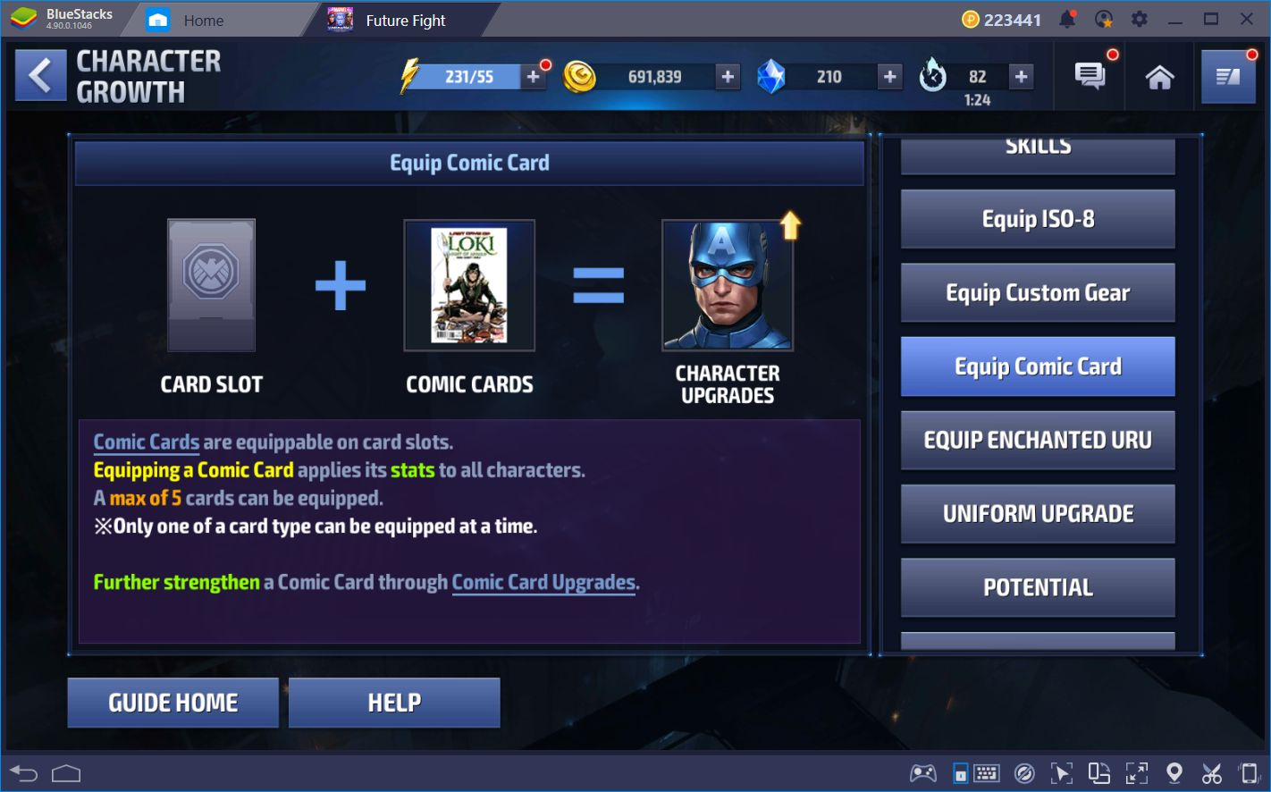 Marvel Future Fight: All You Need to Know About the Comic Cards