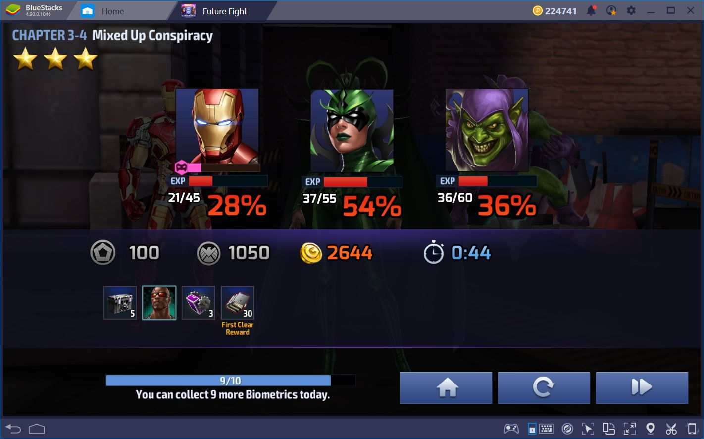 How to Upgrade and Quickly Level Your Heroes in Marvel Future Fight