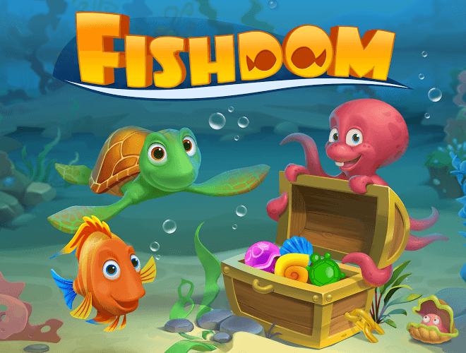 Играй Fishdom: Deep Dive На ПК 19