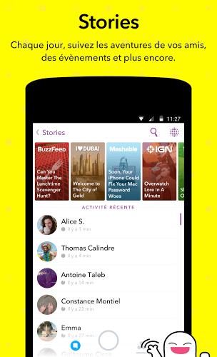 Jouez à  Snapchat app sur PC 4