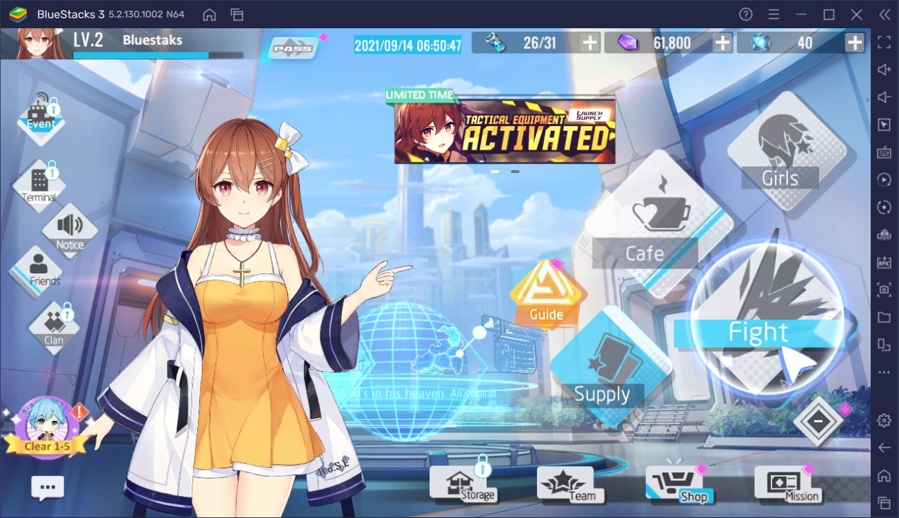 Girl Cafe Gun BlueStacks Optimizasyon Rehberi