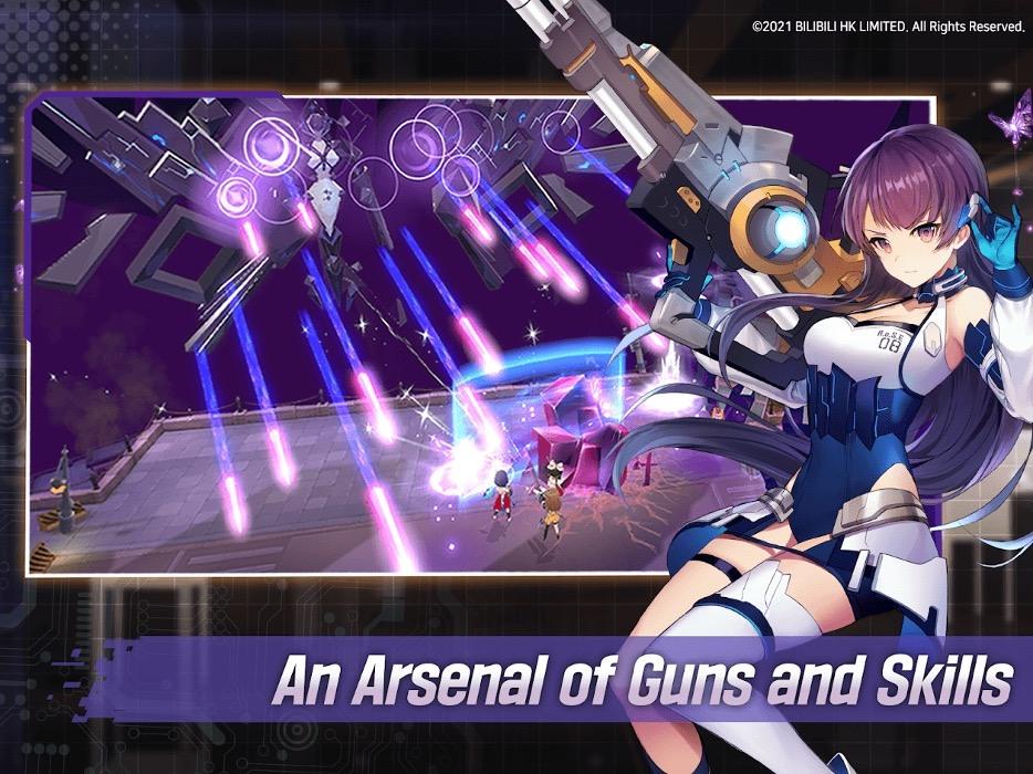 Играем в Girl Cafe Gun на ПК с помощью BlueStacks