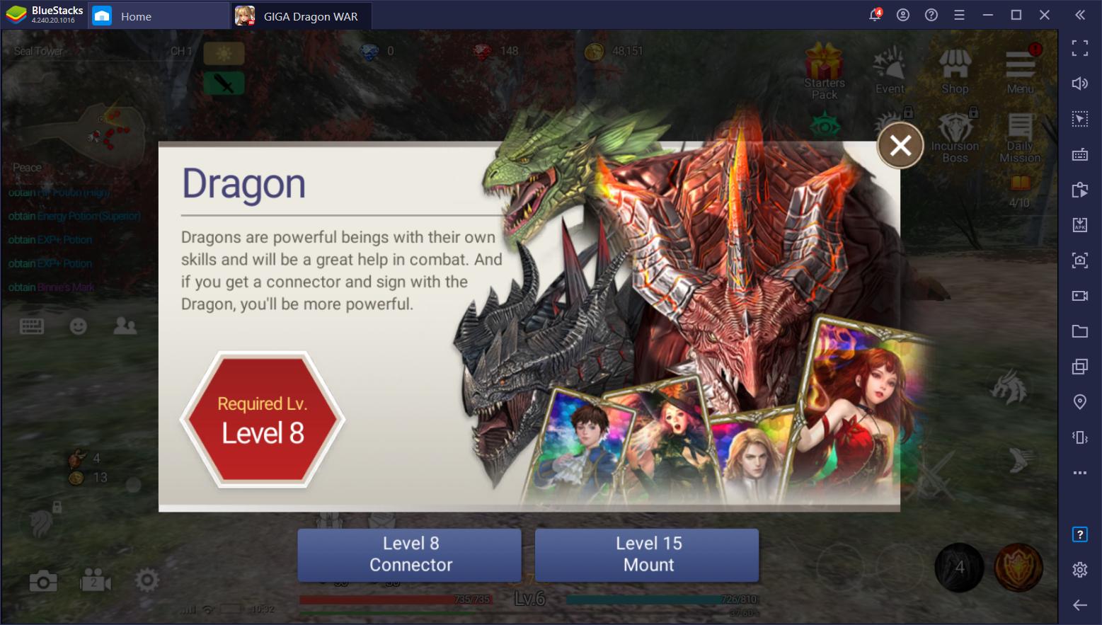 10 Hal Yang Harus Kalian Ketahui Sebelum Bermain GIGA Dragon War!
