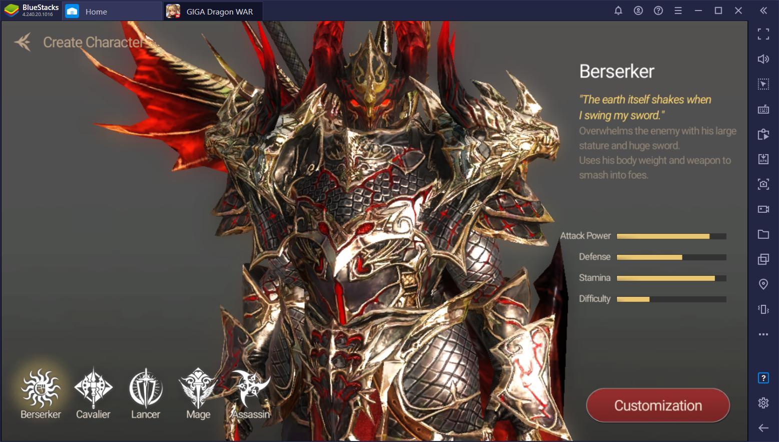 Cara Download dan Main MMORPG Giga Dragon WAR Dengan Menggunakan BlueStacks
