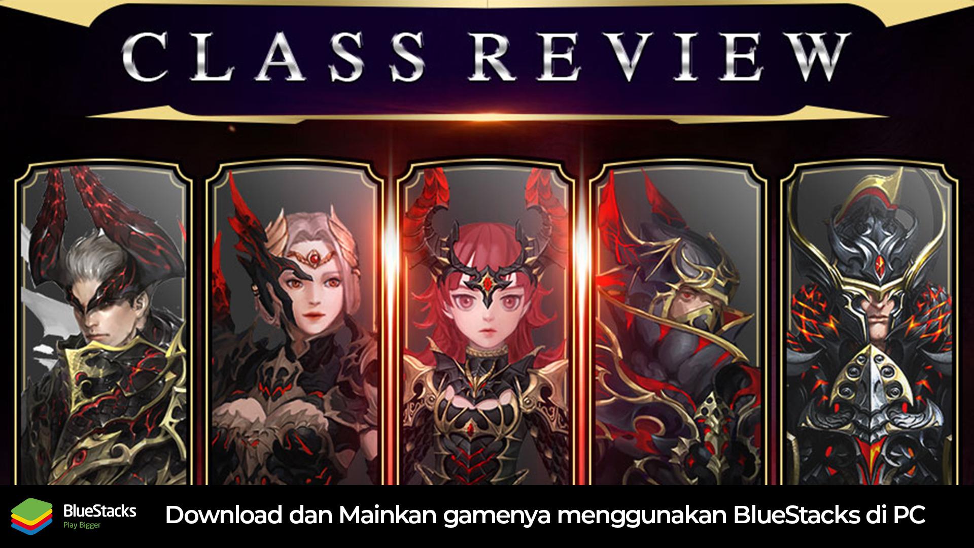 Masing-Masing Class yang ada di GIGA Dragon War