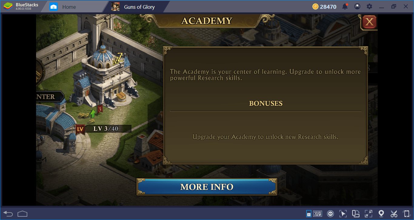 Guns of Glory on PC: Buildings Guide- Construct Your Kingdom, One Stone At A Time