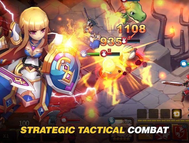 Играй Fantasy War Tactics На ПК 10