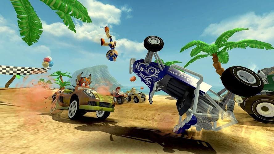 Играй Beach Buggy Racing На ПК 6