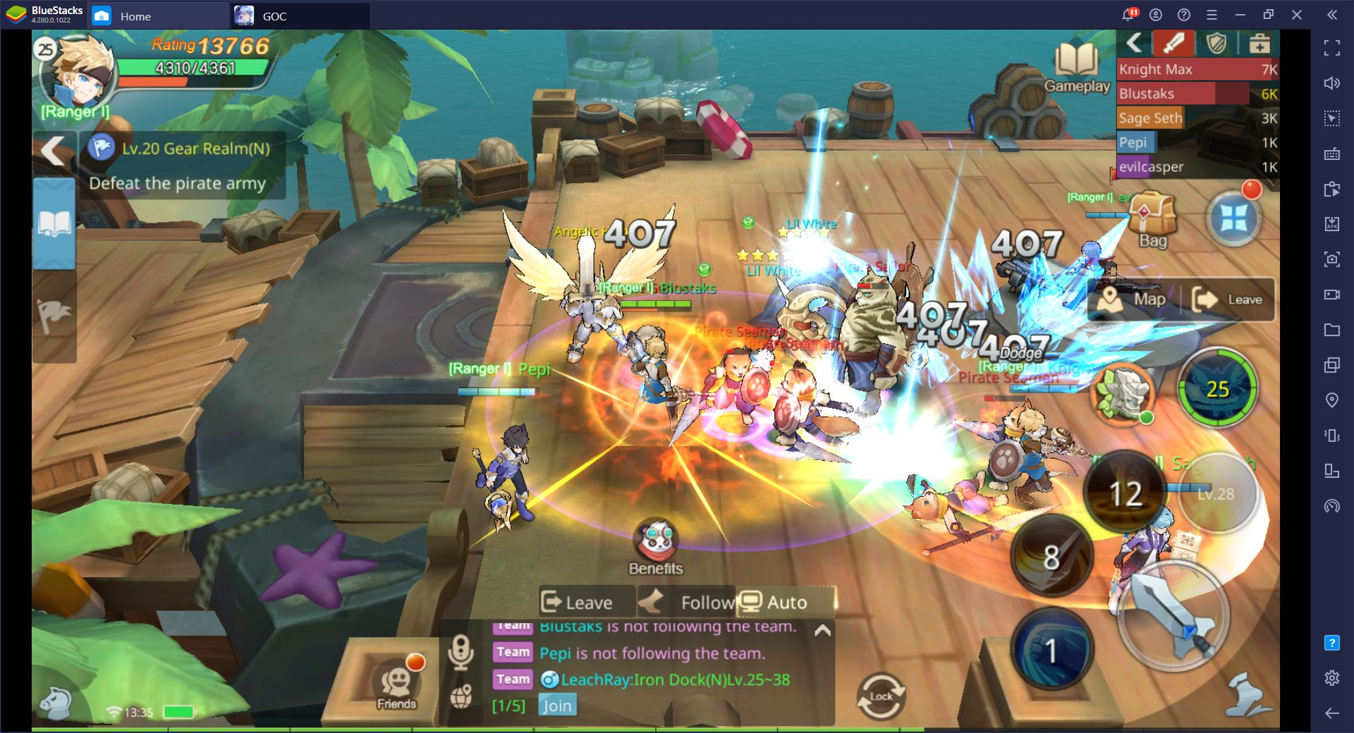 Guardians of Cloudia BlueStacks İncelemesi