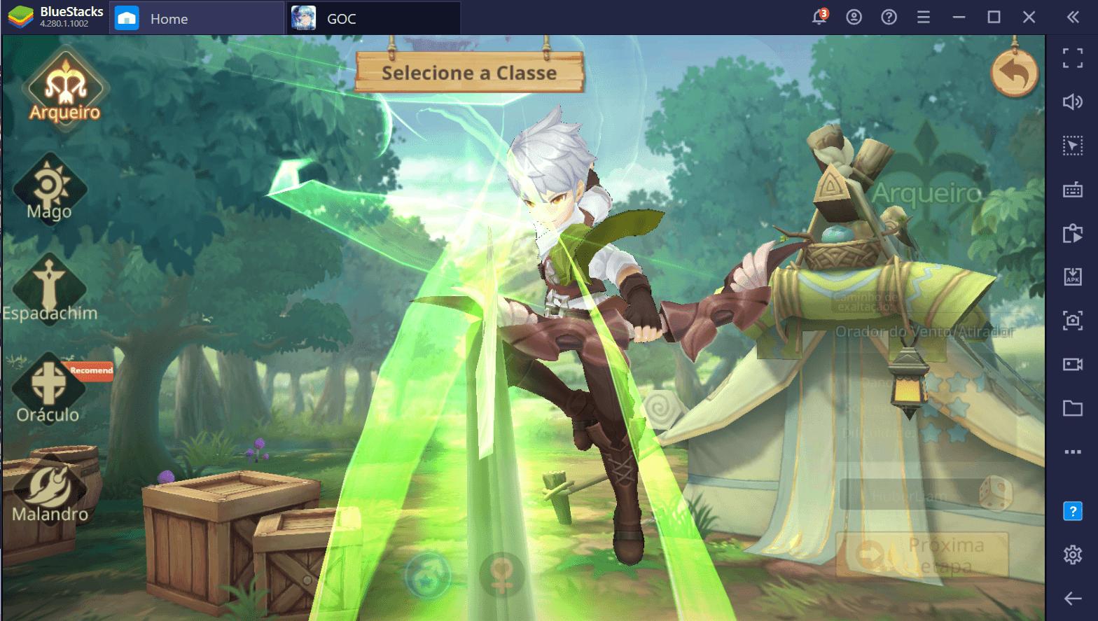 Guia de Classes de Guardians of Cloudia – Qual a Melhor Classe para Você?