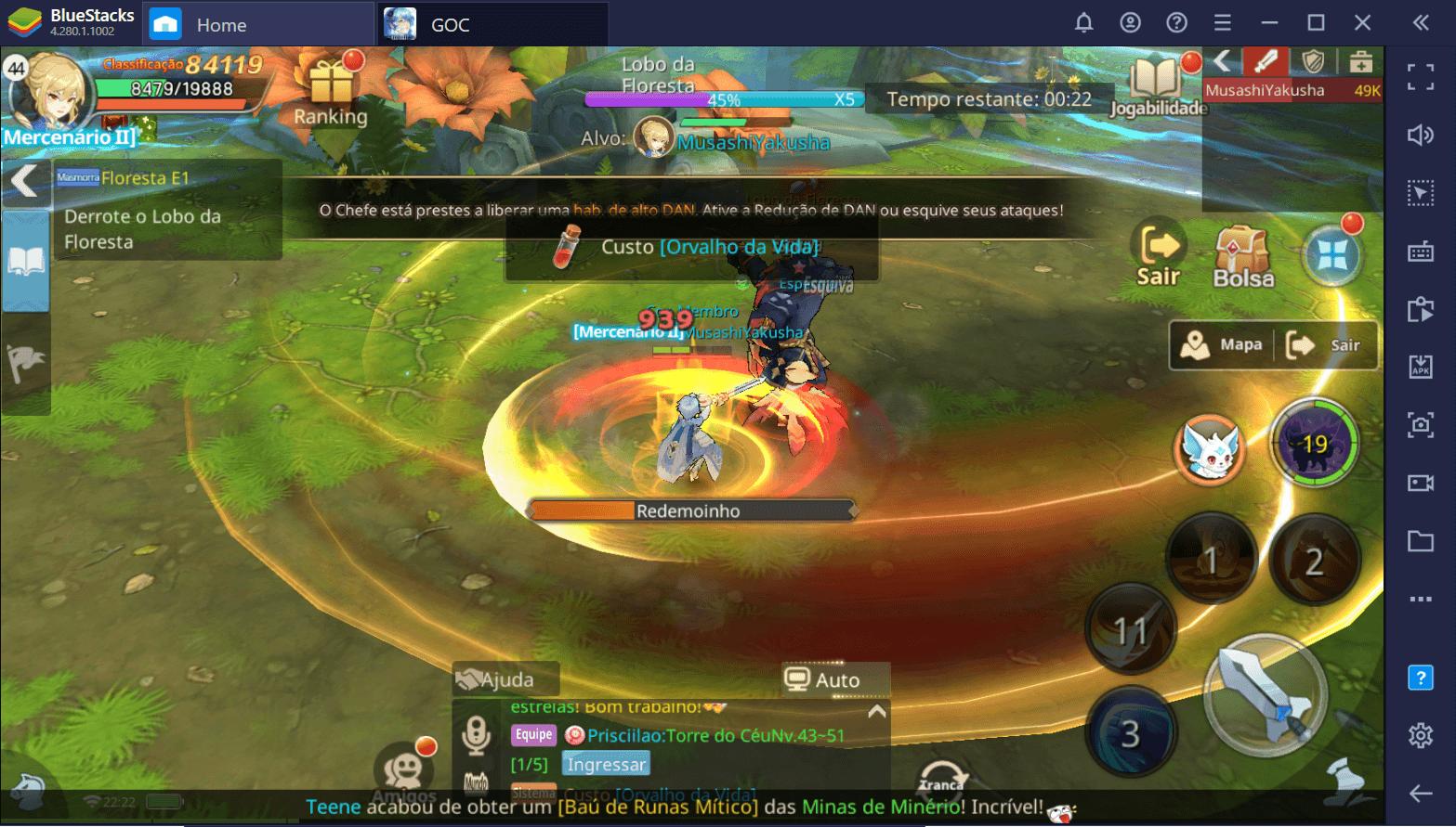 Guardians of Cloudia – Como usar o BlueStacks para se Destacar neste MMORPG Mobile