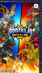 BlueStacksを使ってPCで『ゴジラ バトルライン/GODZILLA BATTLE LINE』を遊ぼう