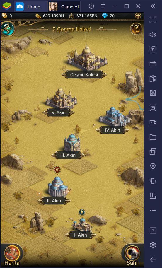 Game of Sultans Savaş Mekanikleri Rehberi