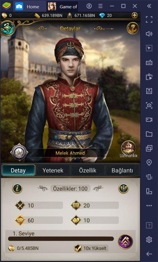 Game of Sultans Vezirler ve Varisler Rehberi