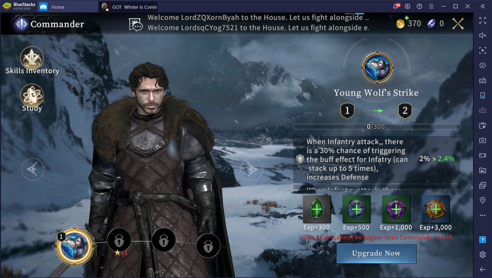 Beginner S Guide For Got Winter Is Coming Bluestacks