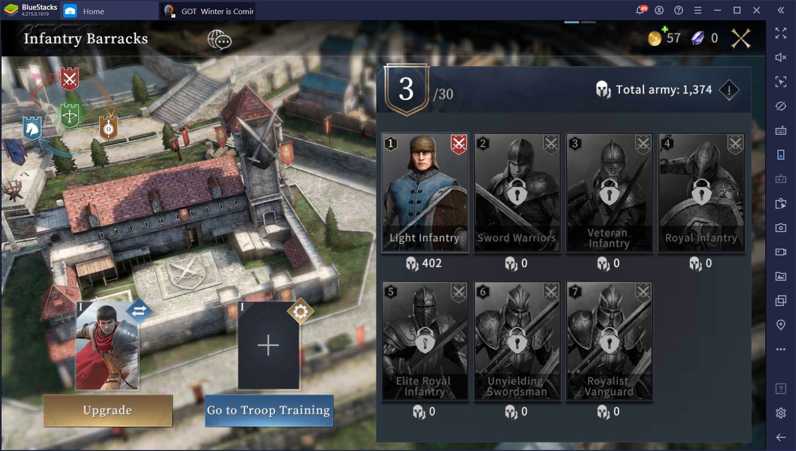 GOT: Winter is Coming – A Sneak Peek of This Upcoming Strategy Game