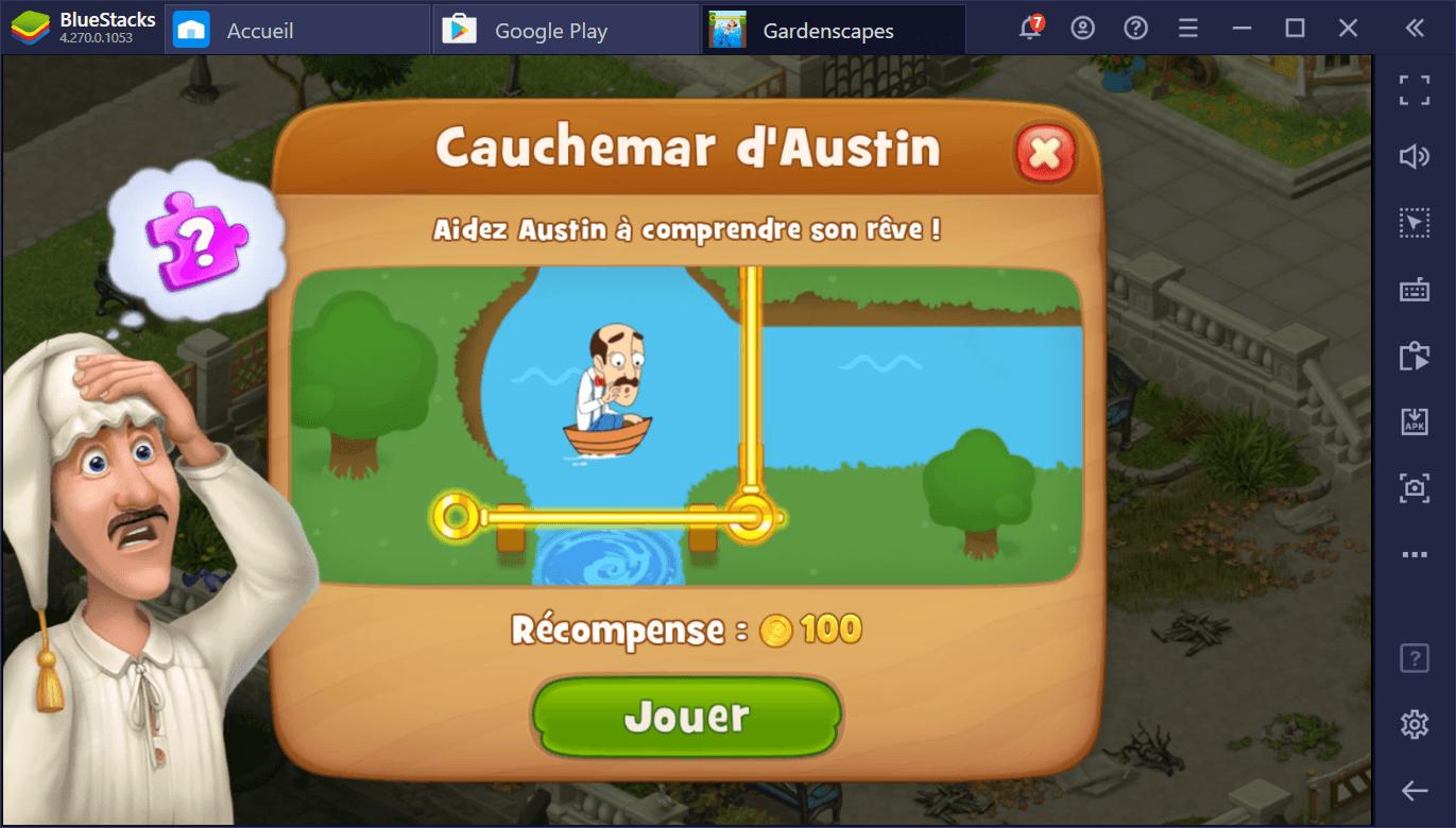 Guide du débutant pour jouer à Gardenscapes