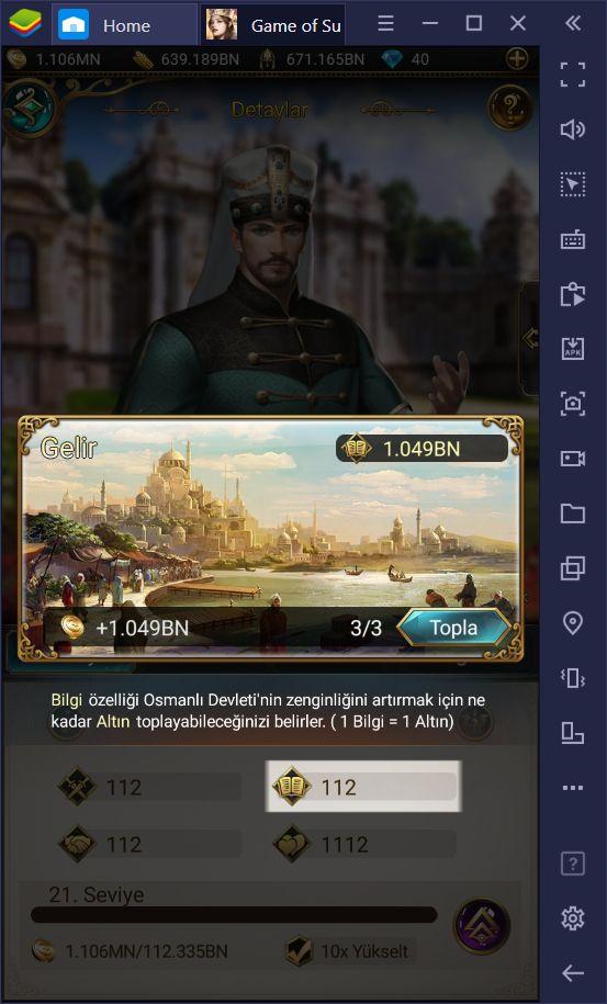 Game of Sultans İnceleme & Yeni Başlayan Rehberi