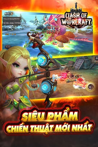 Chơi Clash Of Warcraft on PC 4