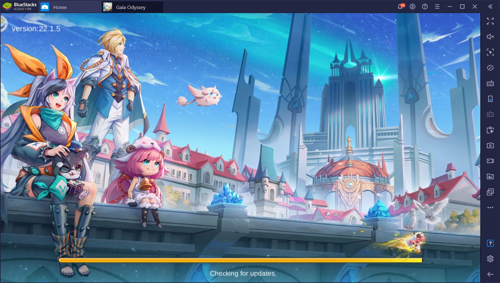 Gaia Odyssey auf dem PC – Wie man das neueste MMORPG von EYOUGAME spielt