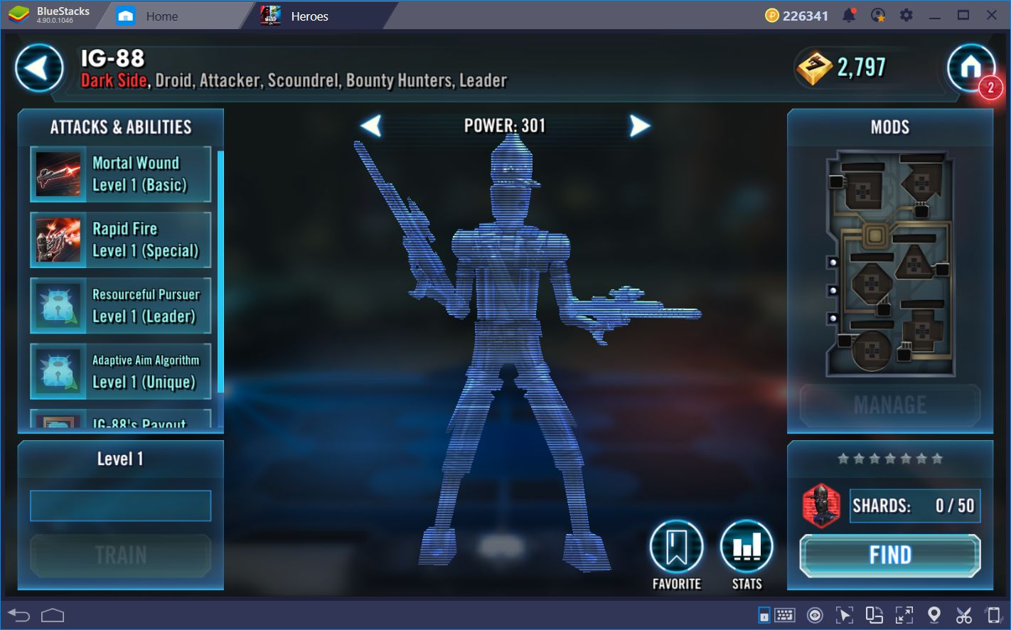 Combat Guide for Star Wars: Galaxy of Heroes