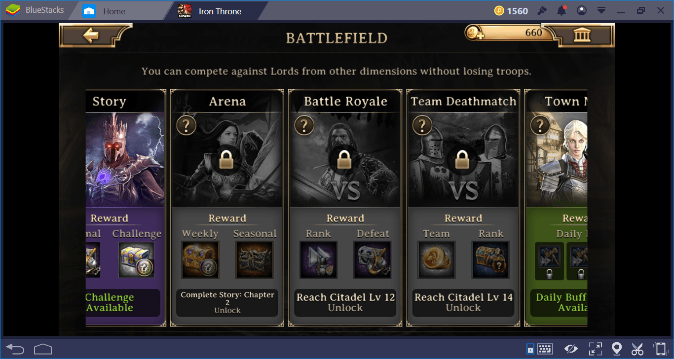 Iron Throne Game Modes and Battle Guide
