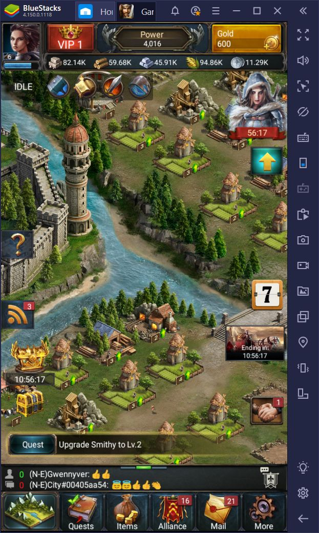 Game of Kings: The Blood Throne on PC – How to Increase Your Production