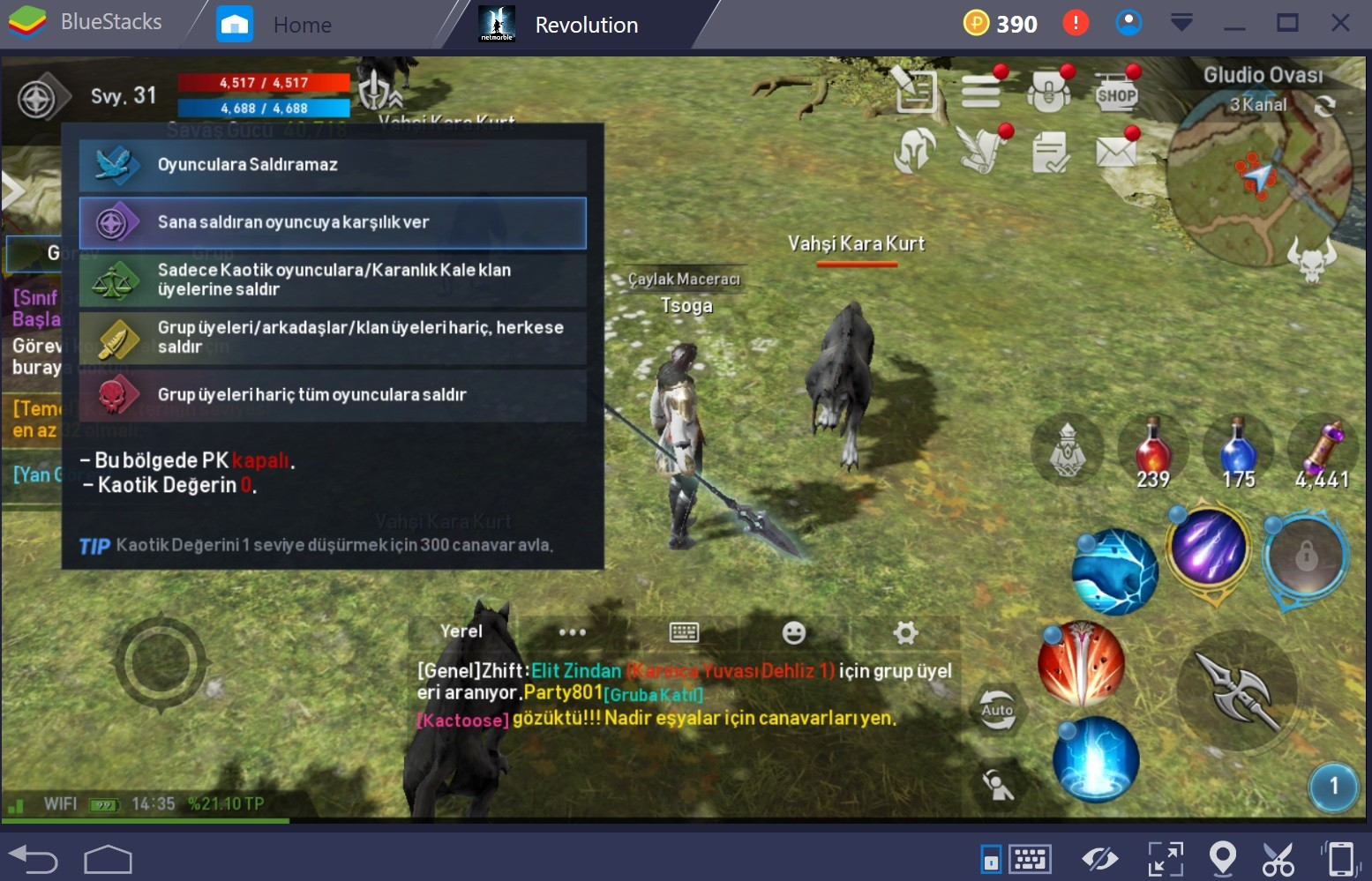 Lineage 2 Gameplay Tr