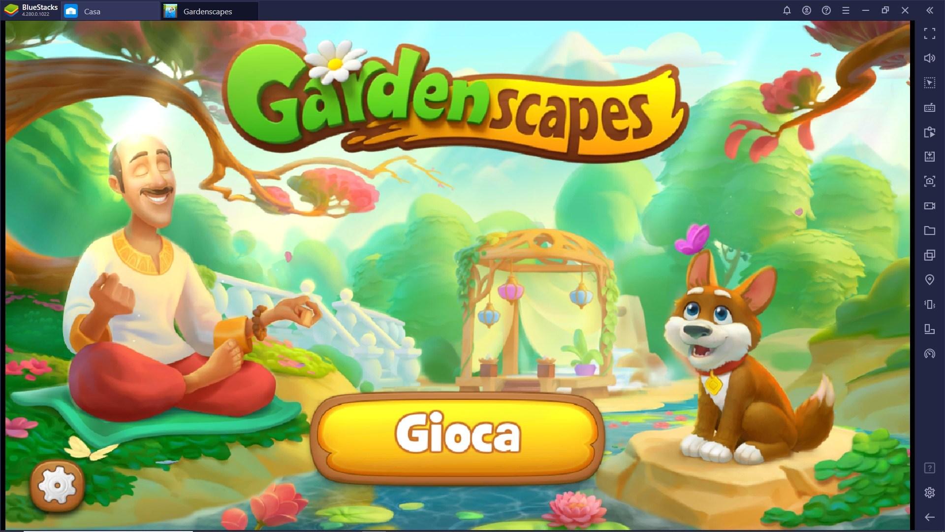 Muovere i primi passi in Gardenscapes