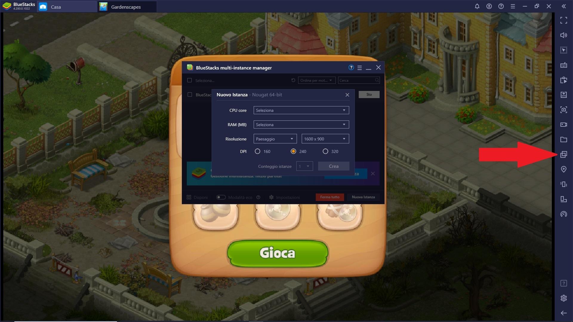 Gioca Gardenscapes su PC e Mac con BlueStacks