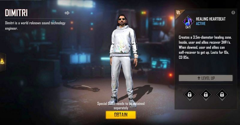 Garena Free Fire: How To Claim the New Character DJ Dimitri For Free