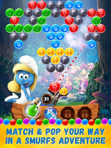 Play Smurfs Bubble Story on PC 15