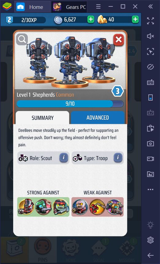 The Different Types and Roles of Units in Gears POP!