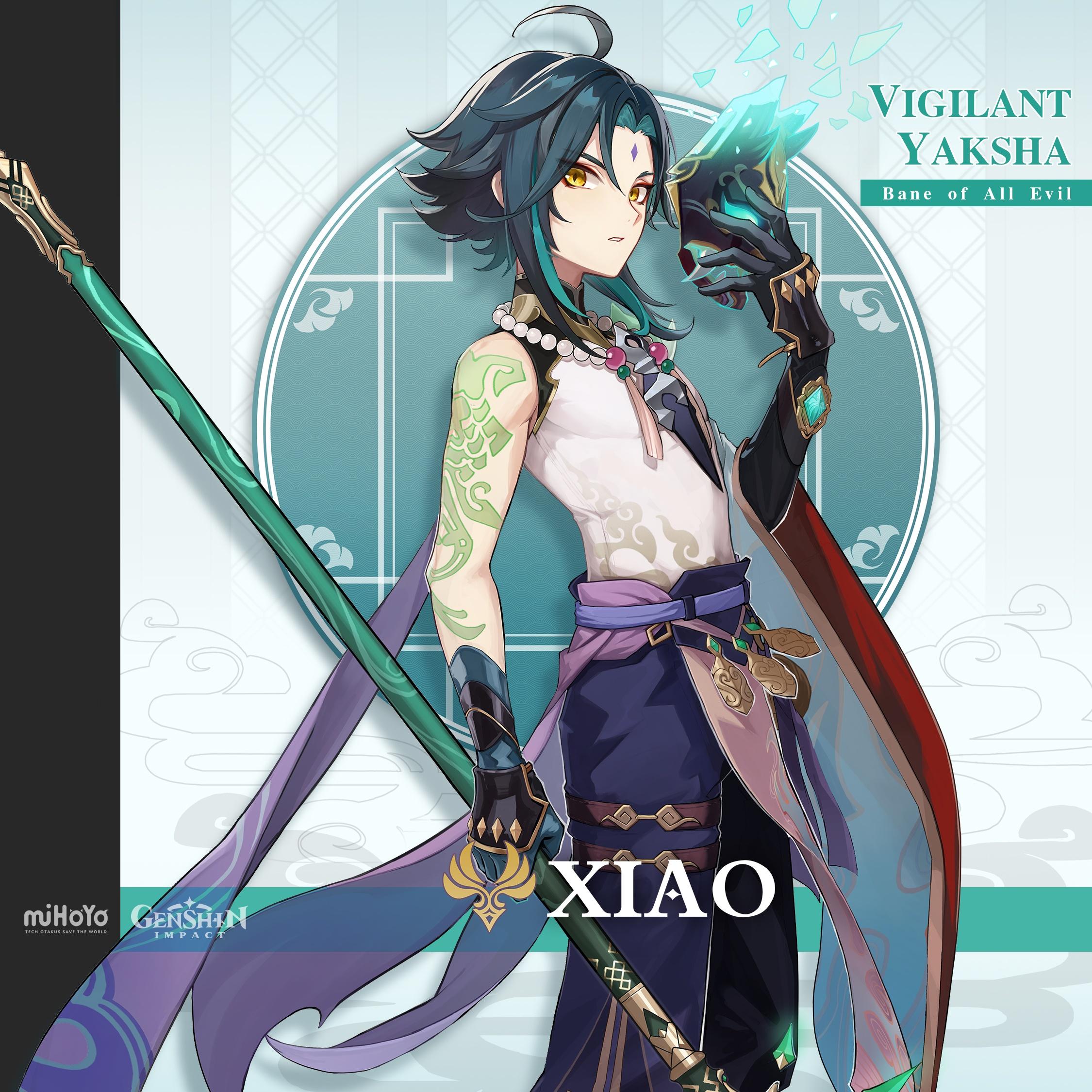 Genshin Impact 1.3 Update – Overview of Xiao, the Vigilant Yaksha