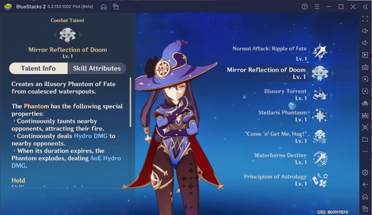 لعبة Genshi Impact – دليل بناء شامل لشخصية Mona