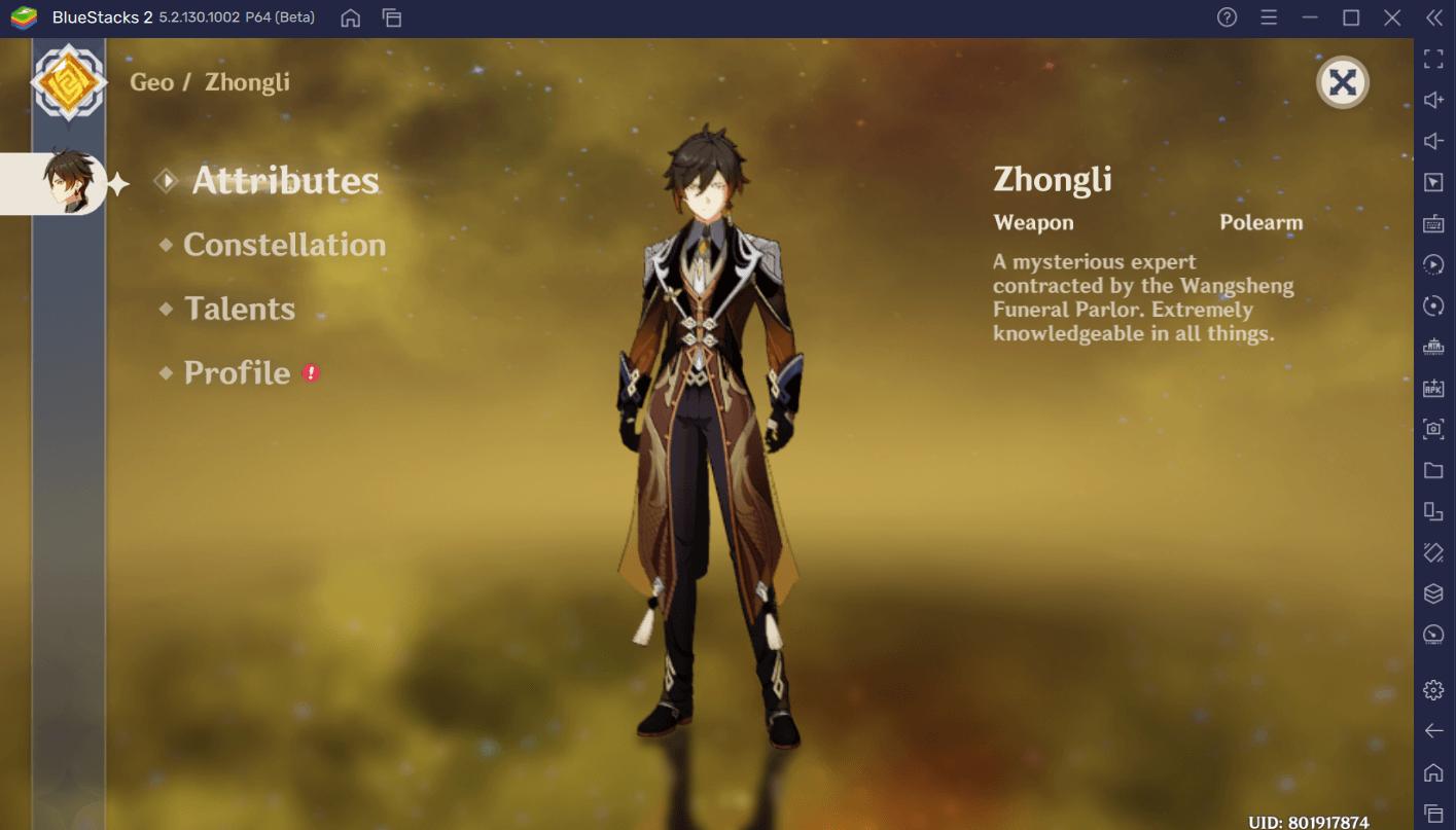 Genshin Impact – A Comprehensive Build Guide for Zhongli