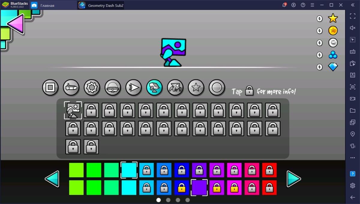 Обзорный гайд по Geometry Dash SubZero. Игра для тех, кто любит сложности!