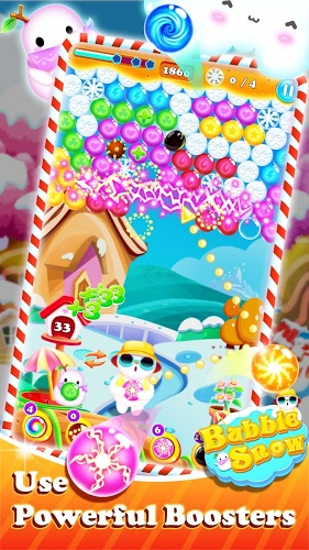 Play Bubble Snow on PC 2