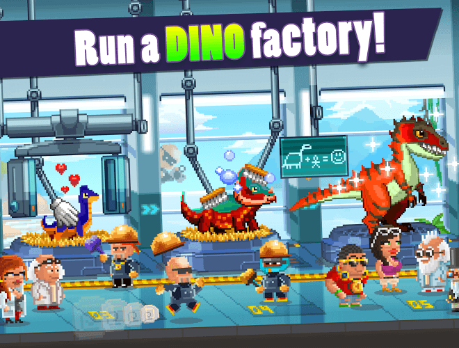 Play Dino Factory on pc 15