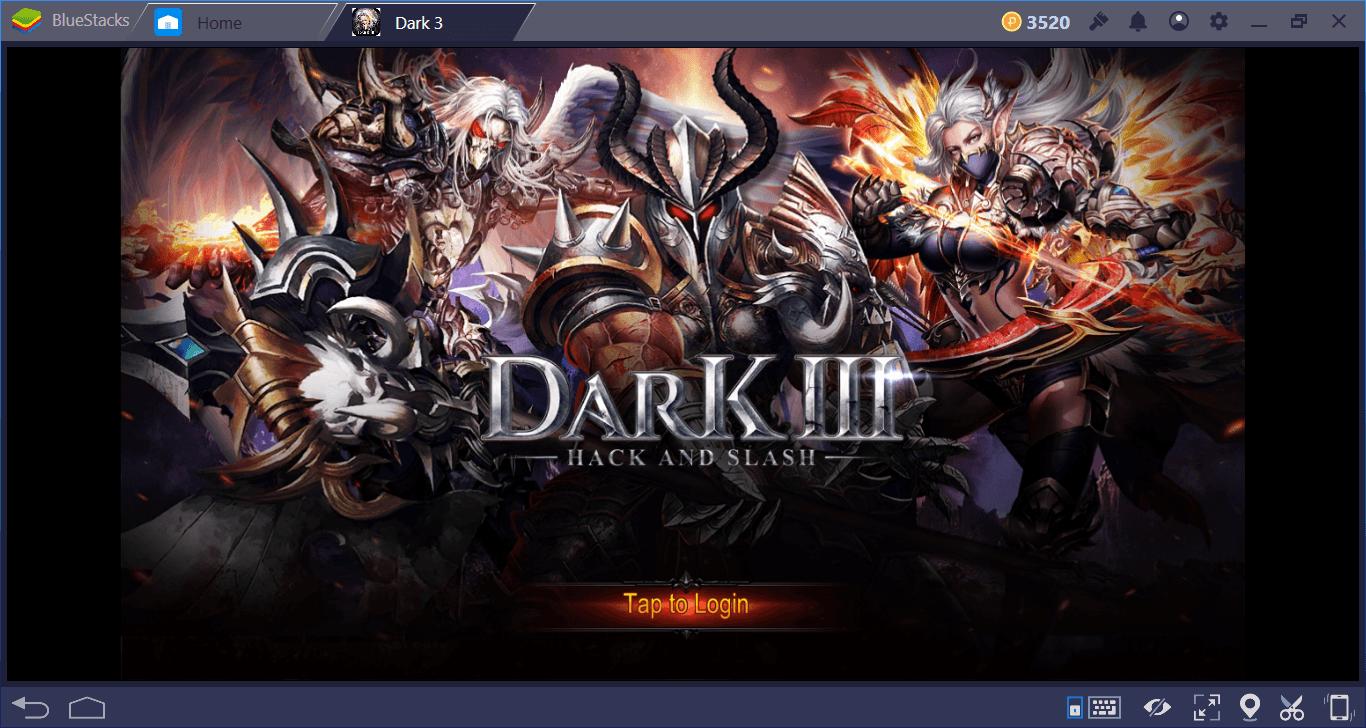 Yeni Başlayanlar İçin Dark 3