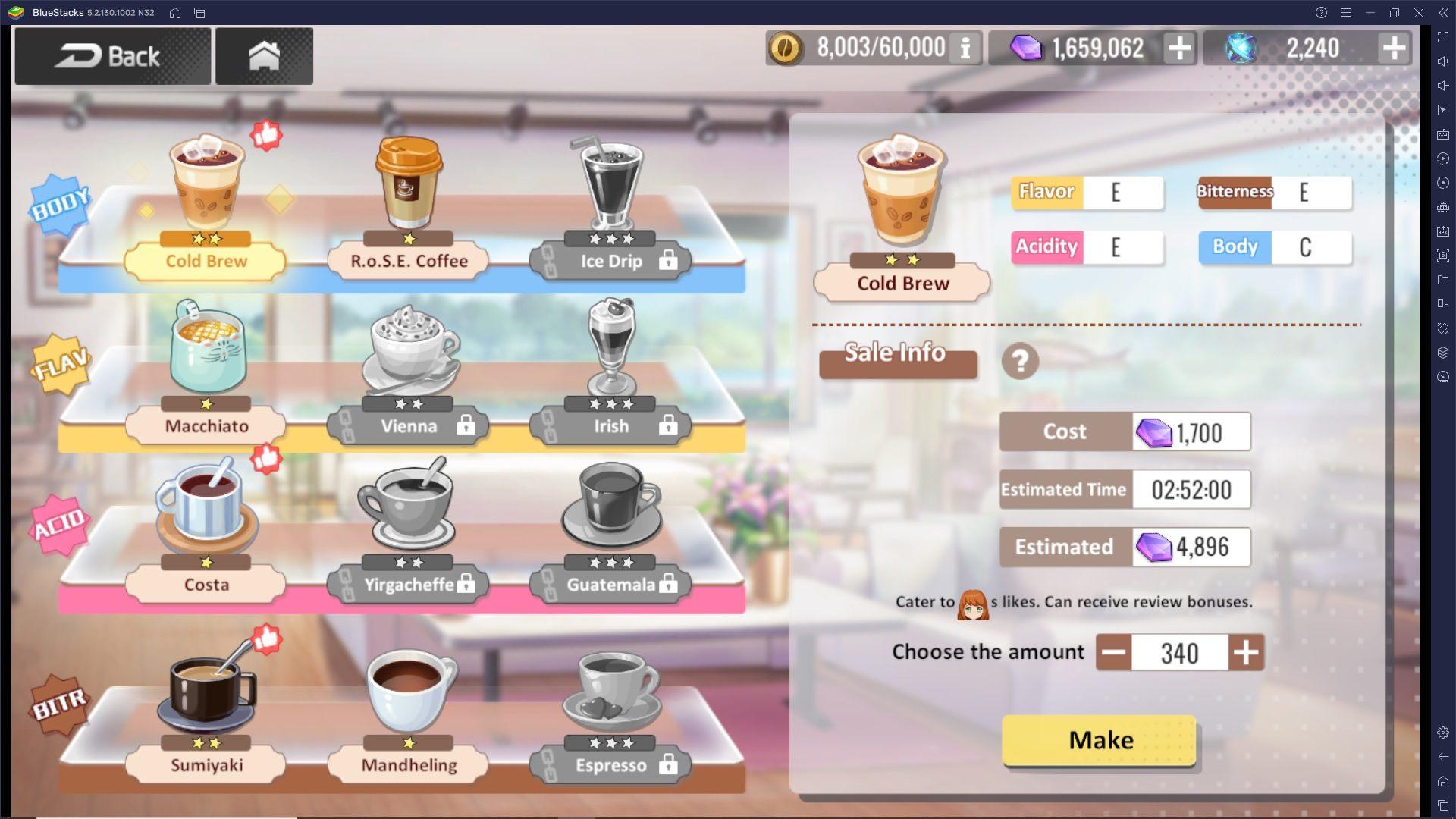 Girl Cafe Gun – Come funziona la Caffetteria e come gestirla al meglio